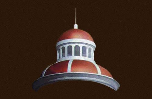 哈尔滨圣华玻璃钢穹顶