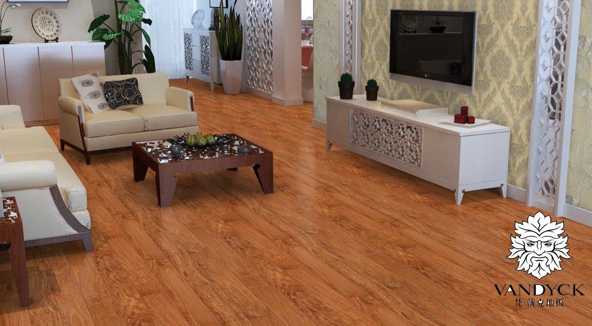 亚花梨实木仿古地板-皇室花梨-梵戴克地板