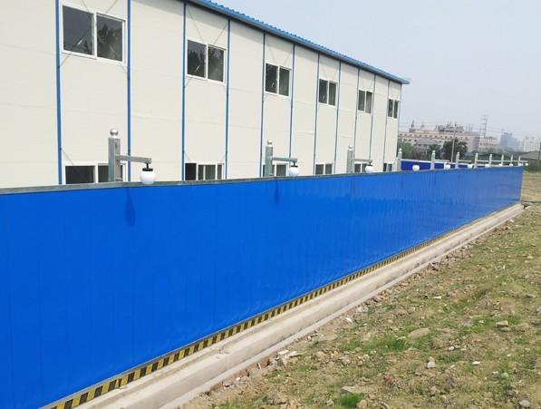 工地围挡瓦型号_供应天津建筑工地围挡板彩钢围挡板彩钢围挡