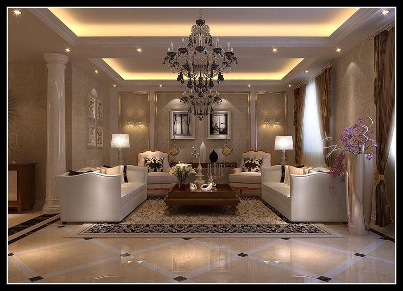 深圳艺卓装饰材料商行 公司简介:石膏产品主要有:角线,平线,天花造型图片