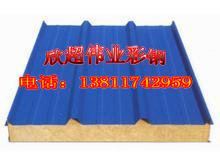 岩棉夹芯板彩钢岩棉板的优良性能体现