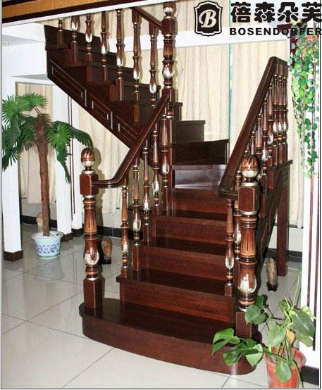 宁波楼梯 厂家直销 钢木楼梯 护栏 楼梯配件