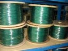 环保包胶316L不锈钢钢丝绳(pu胶)