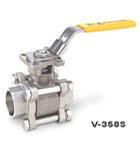 供应V-358S承插焊三片式球阀