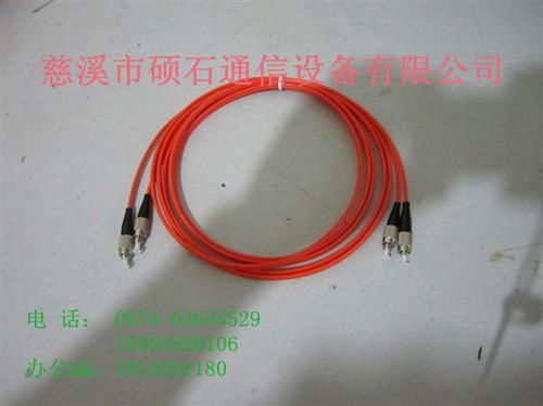供应ST多模双芯光纤跳线