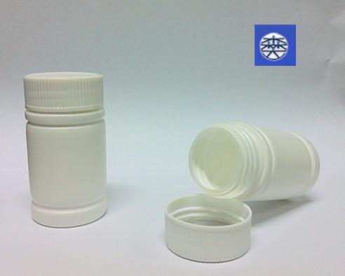 环保木糖醇口香糖塑料瓶 金属铝盖塑料瓶 药用擦剂瓶 森达塑胶