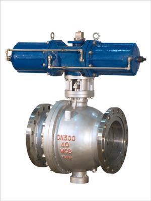 供应MQ647MF型-气动喷煤粉式球阀