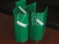 阻块/橡胶柱帽/眩板/端部支撑架/端部立柱/护栏板/螺栓