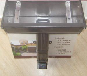 供应彩铝别墅天沟  金属落水系统  天沟水管