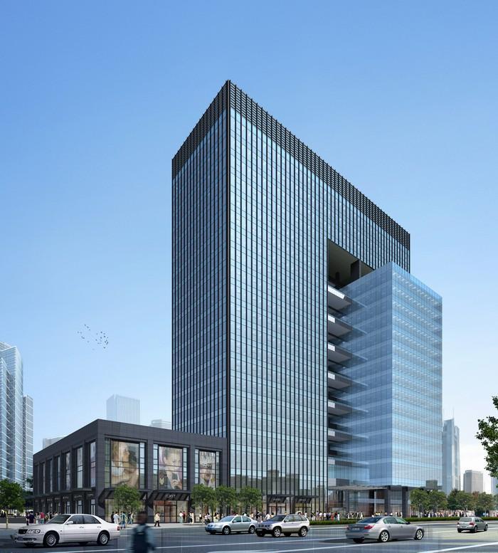 大厦 建筑 平面图 700_777
