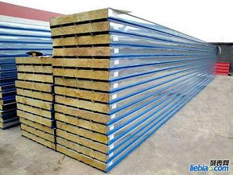 5公分岩棉彩钢板价格|7.5公分岩棉板供应