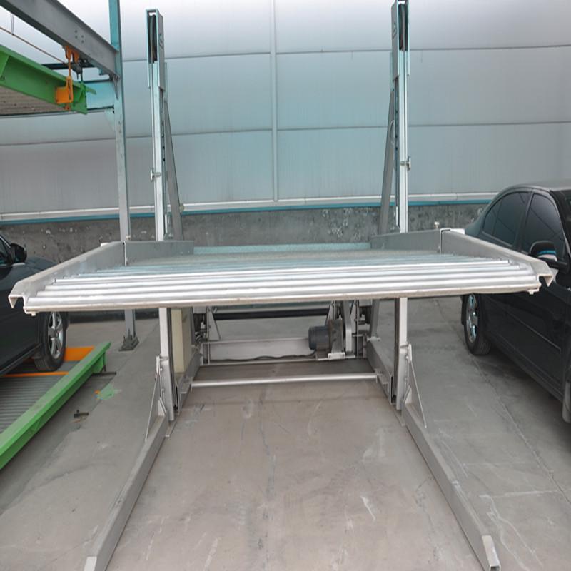 齐星 简易 式2层 立体 车库 地下 停车库 效果图高清图片