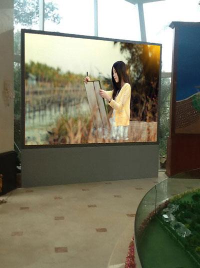 室内P4全彩led显示屏 分辨率62500每平方米-【