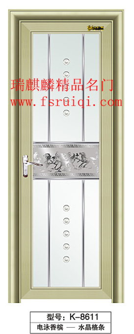 钛镁合金门、平开门、卫生间门