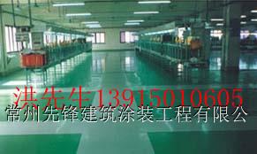 供应合肥环氧皱型防滑地坪   彩色固化地坪