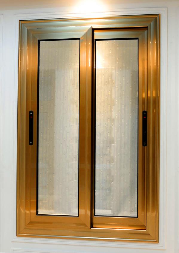 90  材质: 铝合金  开关类型: 手动  凤铝断桥铝合金门窗三轨推拉窗