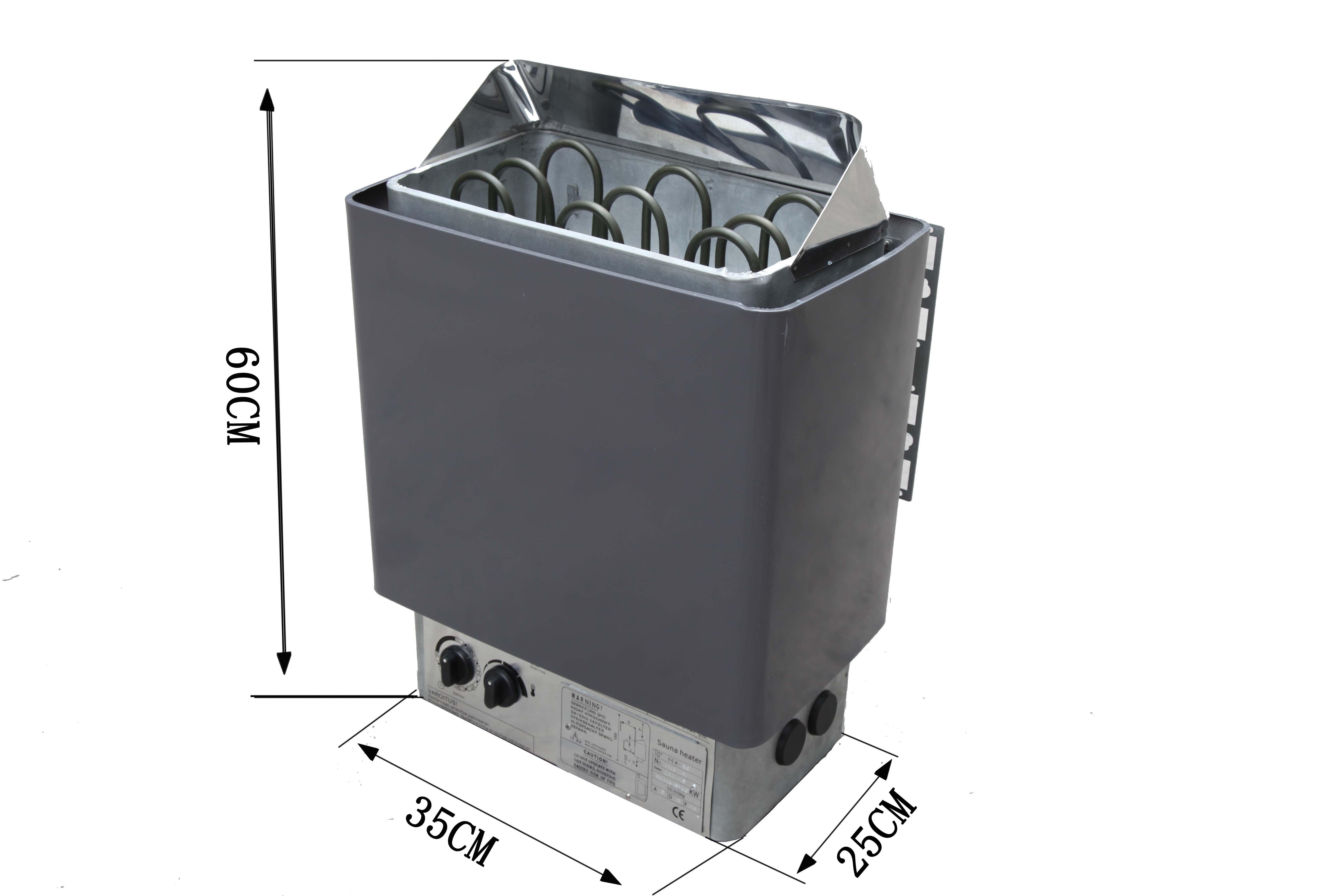 供应桑拿房配件高档桑拿炉可配外控器