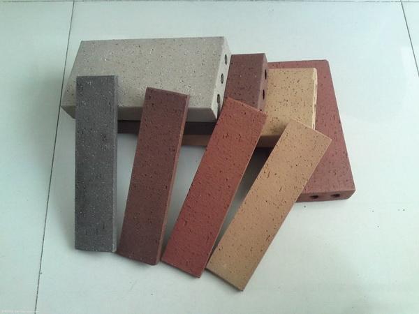 厂家供应宜兴陶土砖,真空烧结砖,劈开砖