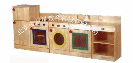 供应幼儿园家具-厨房组合五件套图片