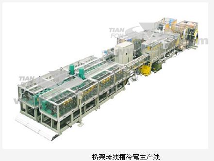 电缆桥架母线槽外壳冷弯生产线厂家