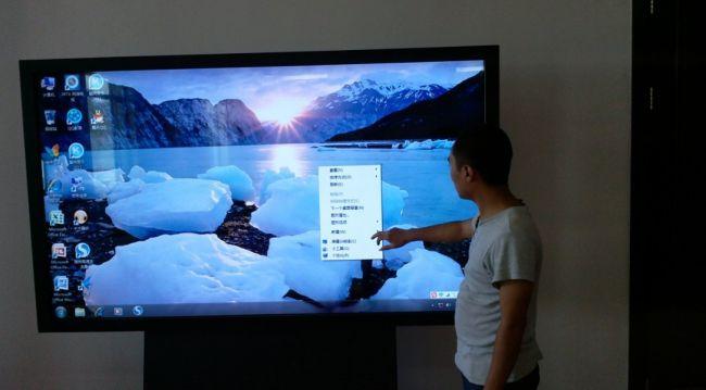西藏70寸液晶触摸一体机,液晶电子白板-【效果