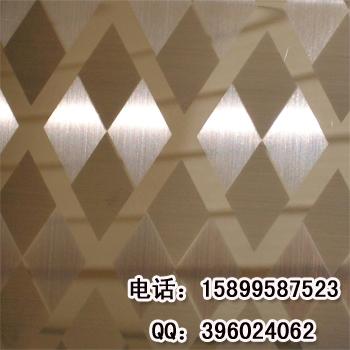 金属材料 金属板材 钢板 > 供应不锈钢交叉拉丝组合工艺 横竖拉丝组合