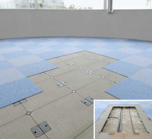 供应办公楼网络活动钢地板包安装
