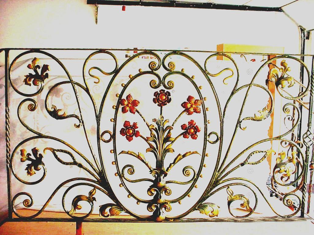 铁艺围墙栏杆效果图图片_铁艺围墙栏杆效果图图片下载图片