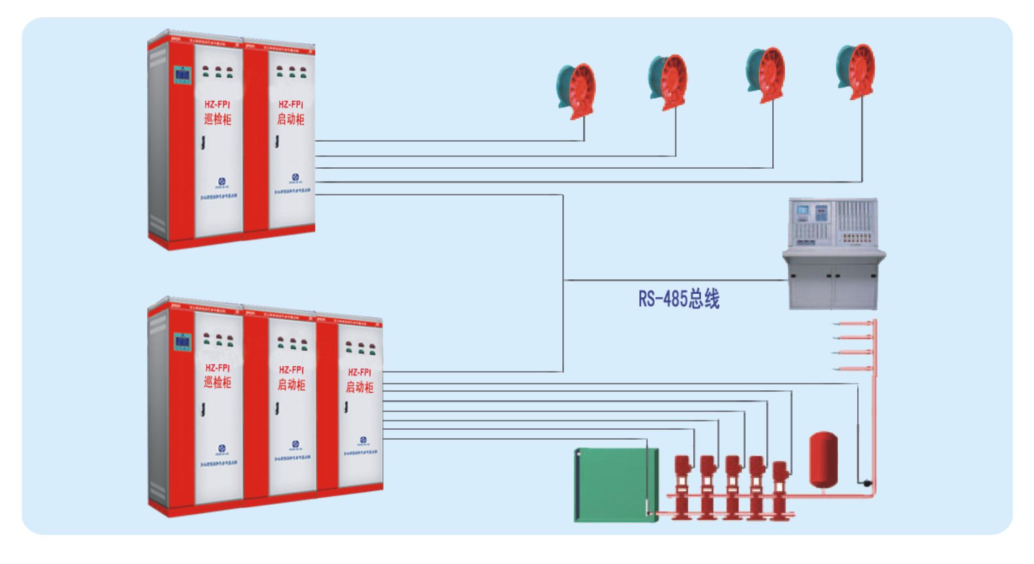 供应数字智能消防水泵巡检柜