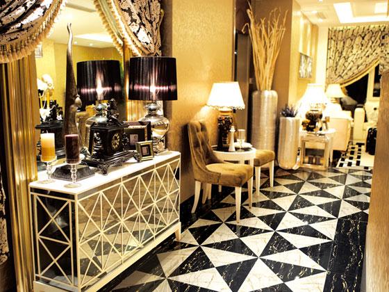 黑金花 瓷砖地板砖客厅卧室地砖 全抛釉
