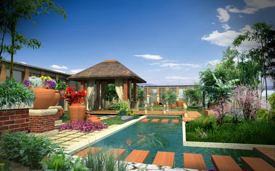 古树名木的历史文化品位 河南园林景观设计-屋顶花园
