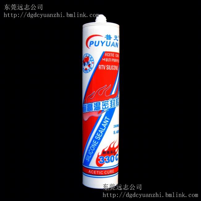 普元260ML耐高温胶300℃密封胶/粘合剂/玻璃胶