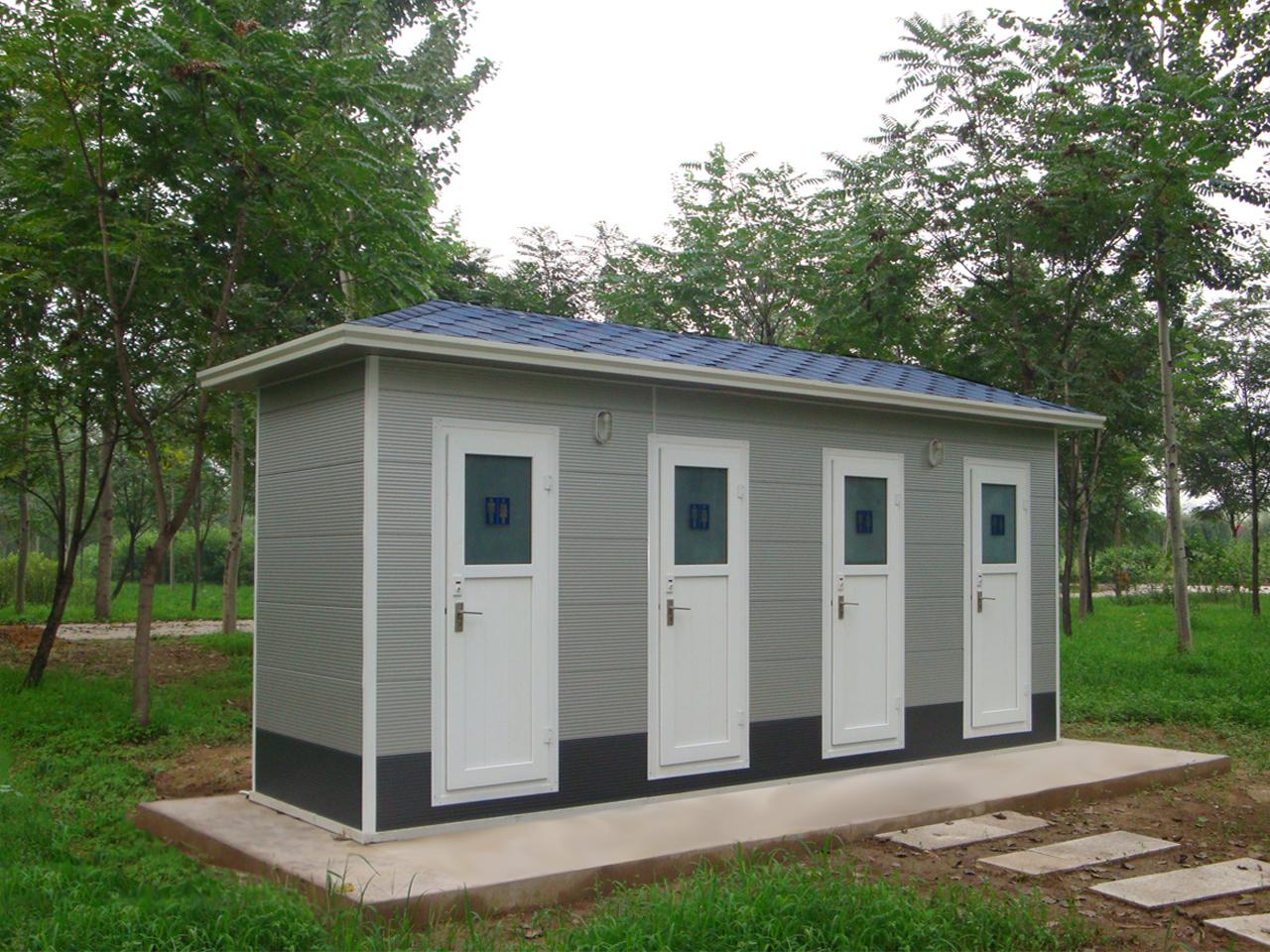 高壓氣水沖移動廁所