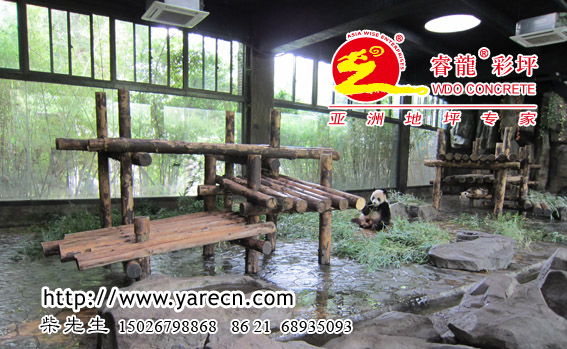 供应艺术仿石路面铺装,大熊猫的选择