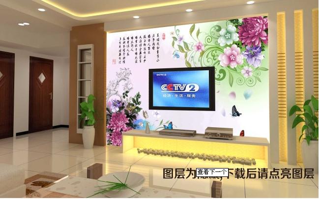 化纤油画布壁画墙纸壁画基材-深圳易西欧个性壁画壁纸基材生产厂家; 图片