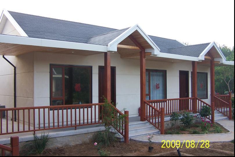 农村住宅彩钢房效果图
