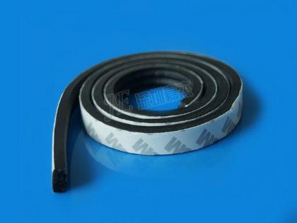 各种电器设备防水密封背胶效果发泡条-【硅胶振动球磨机图片