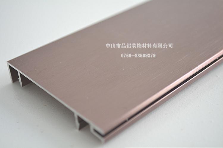 浙江 铝合金墙角线 国标6063 t5铝材 效果图 高清图片
