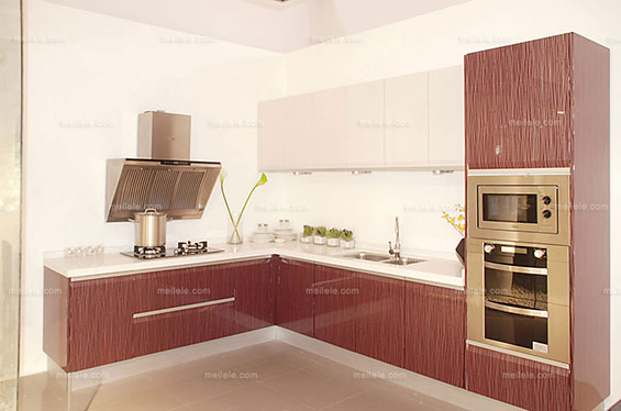 精装修厨房,整体橱柜工程