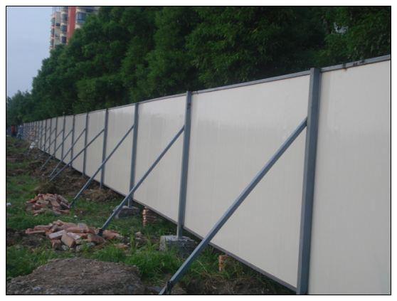 工地围挡瓦型号_临时围档彩钢板围挡铁皮围栏可移动围挡【