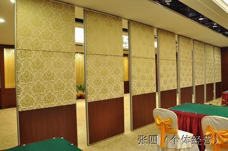 连云港舒尔美酒店包间隔墙