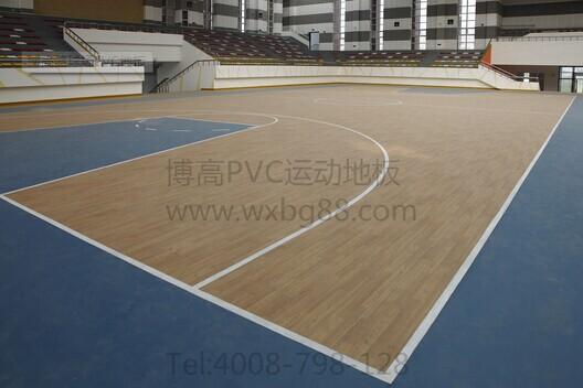 篮球场PVC塑胶地板,品质超越价格