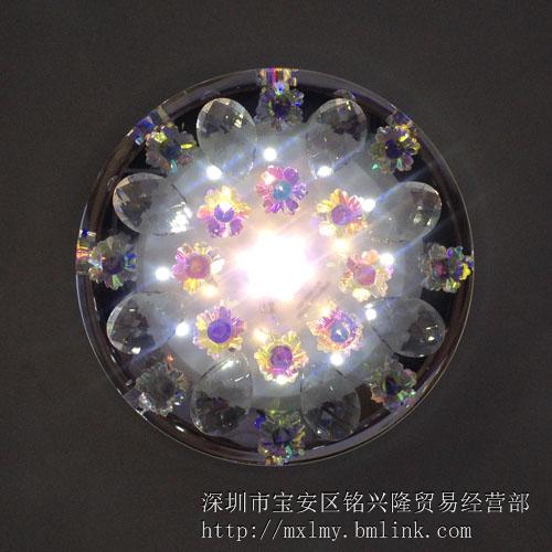 供应水晶吸顶灯 过道灯玄关灯