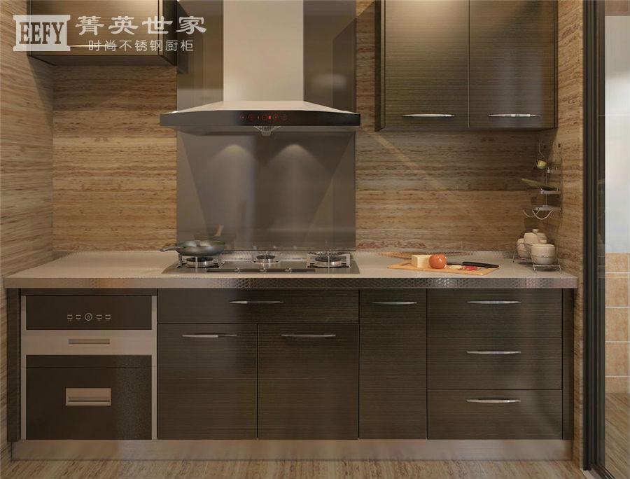菁英世家不锈钢橱柜-纳米系列N005咖啡物语