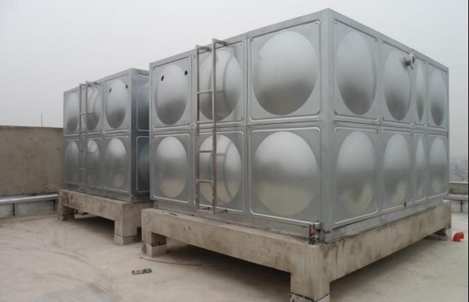 拼接组合式水箱,方形不锈钢冲压板水箱