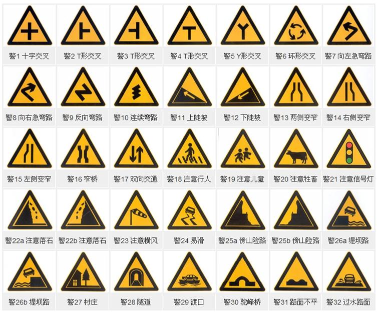 珠海警示标志牌