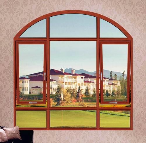 供应欧式优质铝合金门窗