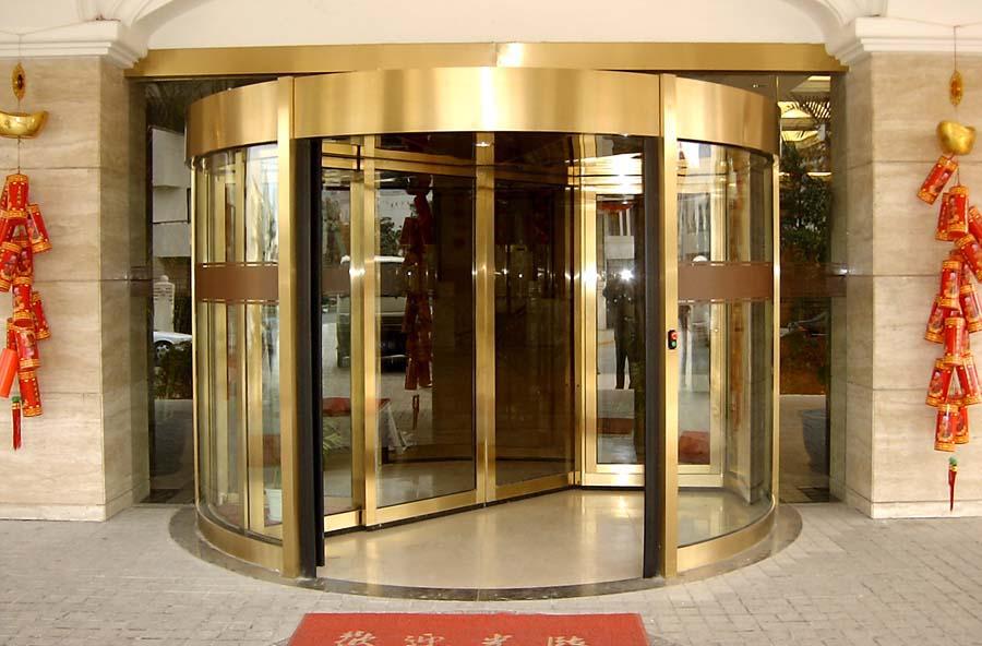厂家直销酒店自动旋转门