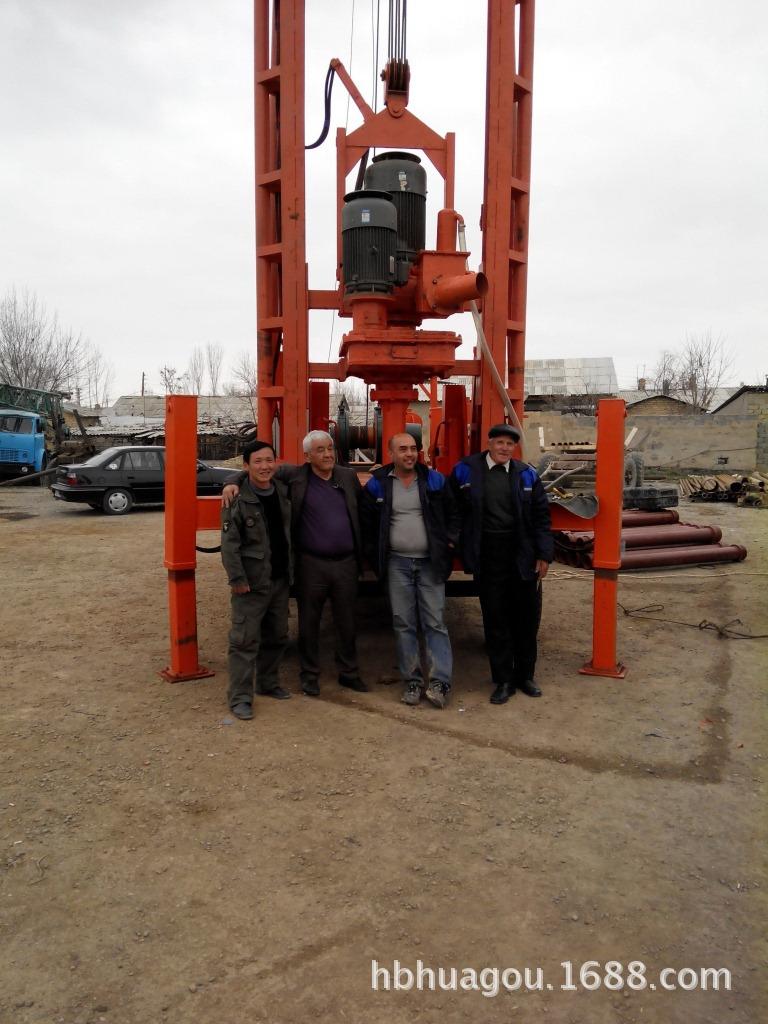 工程打桩机厂家--(拖车 液压)钻机图片