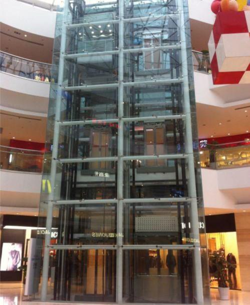 顺义后沙峪观光电梯钢结构装修施工队新都会